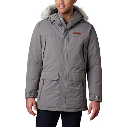 Columbia Men's South Canyon Long Down Parka, Waterproof & Breathable