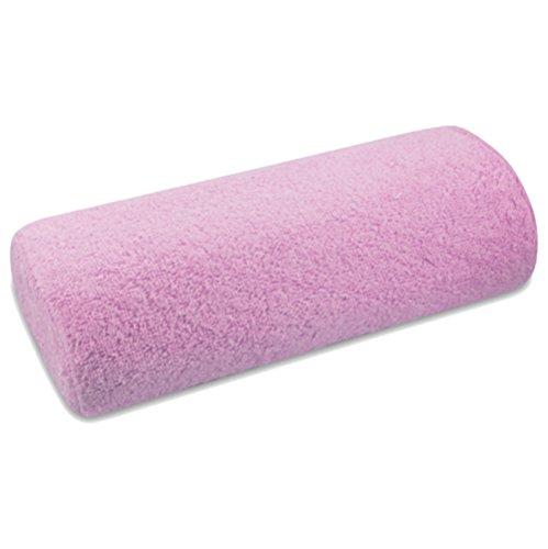 Handauflage Stoffbezug Frottee pink - Handablage Bezug abnehmbar und waschbar