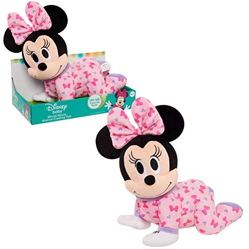 Disney Baby Musical Crawling Pals Plush, Minnie
