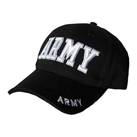 Mens Mlitary Combat Black SWAT FBI Security Army Baseball Cap Hat Sun Visor New
