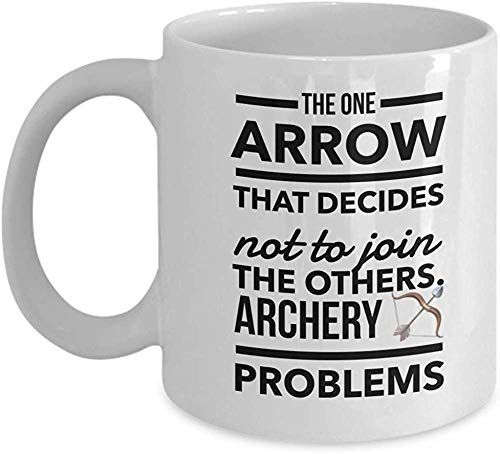 Archery Coffee Mugs Funny Archer Merchandise Gifts Idea Fo