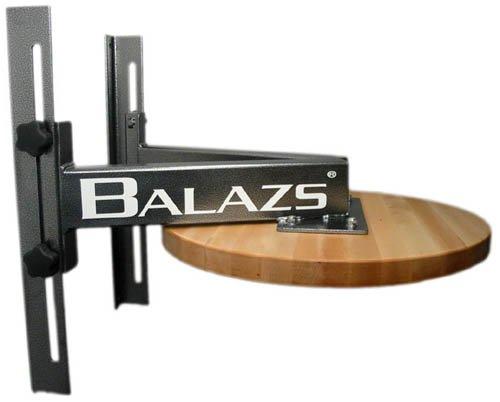 """Balazs Twelve Inch Adjustable Speed Bag Platform - 24"""" Drum"""