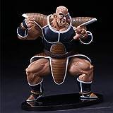 VENDISART Anime Dragon Ball Z Nappa Raditz Figura de acción DBZ Goku Brother PVC Collection Modelo 12cm
