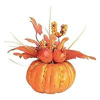 Xigeapg 人工カボチャメープルリーフザクロテーブルの家の装飾 ハウスプロップ 秋秋収穫感謝祭ハロウィーン A