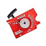 Ymhan® 1pcs Red de Retroceso Tire del arrancador en Forma for la Motosierra de China 4500 5200 5800 45 58cc 52cc