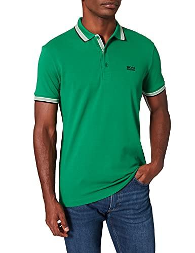 BOSS Paddy Camisa de Polo, Medium Green310, XXL para Hombre
