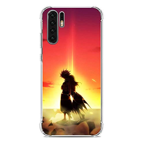 Beautyhouse Clear Transparent Slim Soft TPU Shockproof Case Coque Protective Cover for Huawei P30 Pro Anime Fairy Tail 7