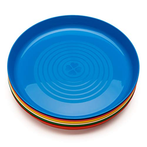 IKEA Kalas Children's Plates Set of 6 Safe to Use in Microwave and Dishwasher