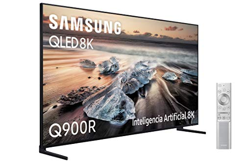 Samsung QLED TV 8K 65Q900R - Resolución QLED 8K 65', Inteligencia Artificial, HDR 3000, Smart TV, One Remote Control Premium