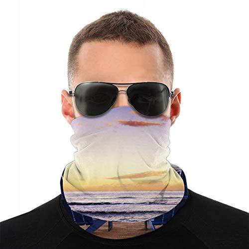 WUQIAN Kopftuch, Gesichtsmaske, Halstuch, für Männer und Frauen, Staub, Outdoor, Sport, Strand, Liegestuhl