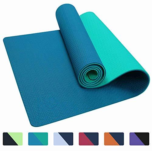 IUGA Yoga Mat Non Slip Textured Surface Eco Friendly Yoga Matt