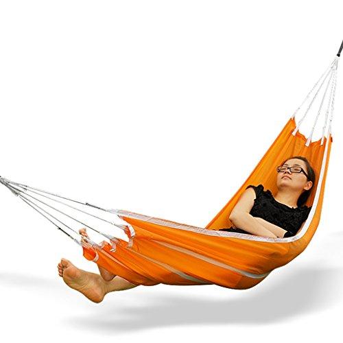XY&CF Hamac Simple et Double de hamac Portable extérieur Ultra-léger de Parachute de Nylon extérieur de Camping pour Le Camping, la randonnée (Couleur : B, Taille : 190 * 72CM)