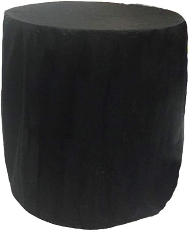MONFS Home Außenzelt Im Freien runde Ofenabdeckung Wasserdichte Staubabdeckung Regenabdeckung (Farbe   schwarz, Größe   Diameter 70cm high 70cm) B07P666SCC  Stimmt