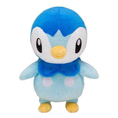 Pokemon Center Original Plush Toy Piplup Tiplouf Plinfa 22cm Peluche