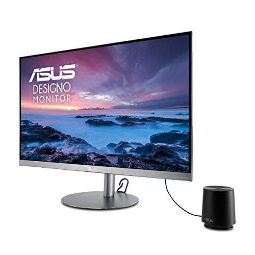 ASUS Designo 27-inch 2K (WQHD) IPS Monitor with Height Adjustable and build-in Speakers & Subwoofer (MZ27AQL)