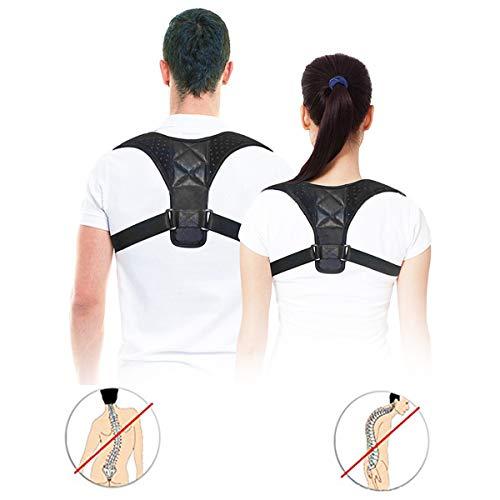 Jinxuny Adjustable Posture Corrector Brace Posture Brace Shoulder Back Support Humpback Hunchback Correction Brace Belt for Women Men Kids (Style : Kid's (Chest Girth: 26-35inch))