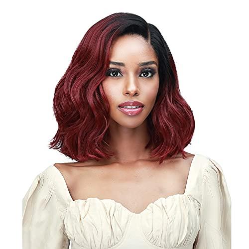 "Bobbi Boss Lace Front Wig TrulyMe 5"" Deep Lace Part MLF594 Selia (F1B/30)"