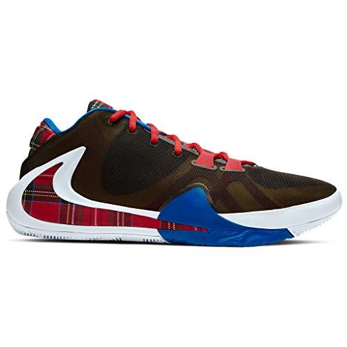 Nike CD4962-001, Basketball Shoe Mens, Black/University Gold/White/Game Royal