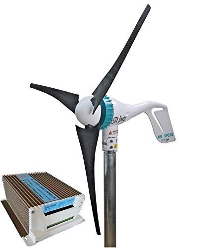 AirSpeed Windgenerator 12V, Windgenerator 24V, Wind Turbine 500W von IstaBreeze® zur Auswahl (24V + Laderegler I/HCC650)
