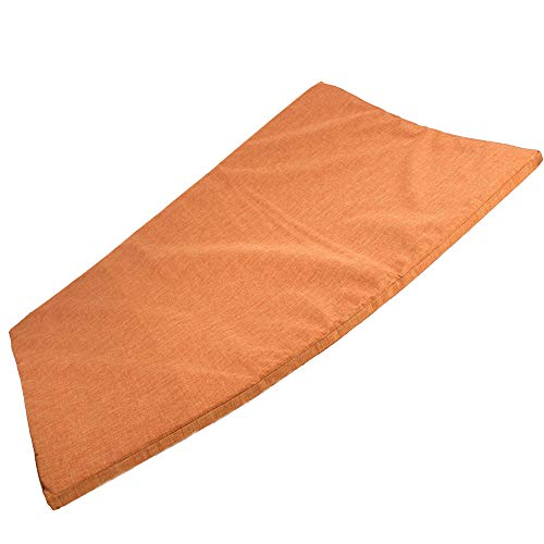Rinderohr® Hundematte Hundebett Hydro 100 x 70cm orange