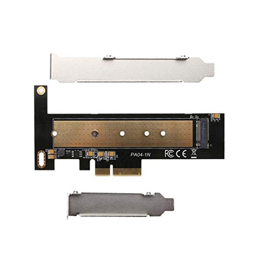 Pandamama Practical Cards PCIE to M2 Adapter M.2 PCI Express Raiser NVME SSD M2 PCIE Adapter SSD M2 Riser Card PCIE3.0 X4 for Mac Pro