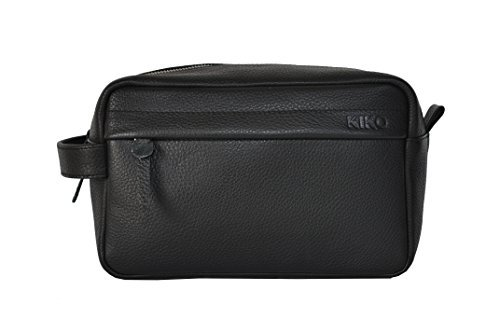 Kiko Leather Travel Kit, Black by Kiko Leather
