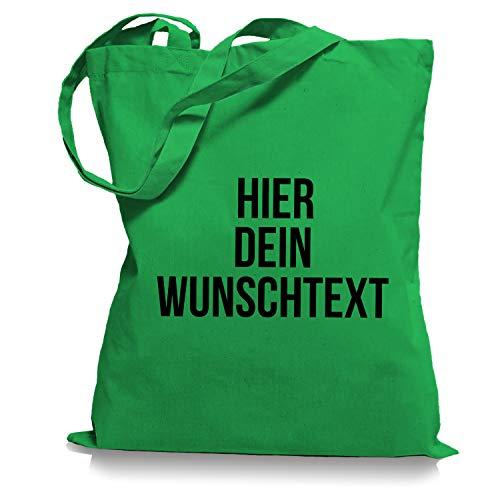 Stoffbeutel Jutebeutel mit Wunschtext/Selber gestalten mit dem Amazon T-Shirt Designer/Beutel Druck/Designertool Tragetasche/Bag/Jutebeutel WM1-kelly