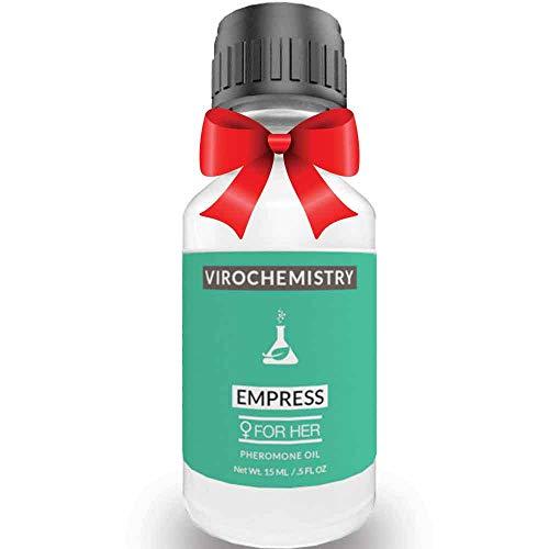 Pheromones For Women (EMPRESS) - Elegant, Ultra Strength Organic Fragrance Body Perfume Oil 15mL Concentrate [Human Grade Pheromones to Attract Men]
