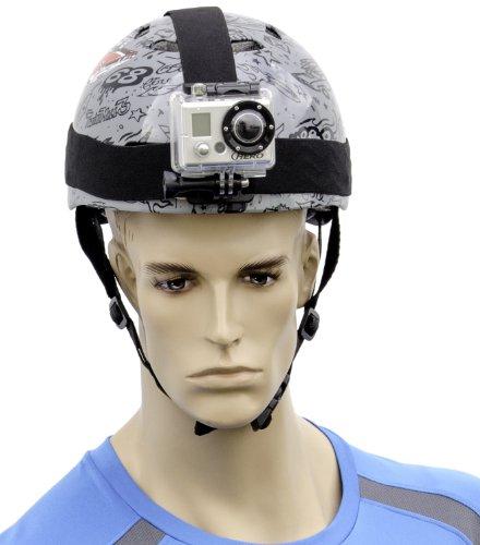 Arkon Helmet Strap Mount for GoPro Hero Action Cameras Retail Black