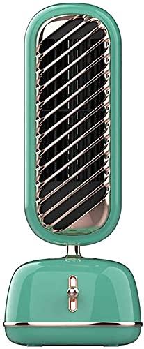 LYLSXY Turmventilator, Turmventilator, Retro-Kühentilator Spray Befeuchtung Stehventilator Oszillierende Ventilatoren Für Desktop, Büro, Heimtischventilator Bodenventilator,D.