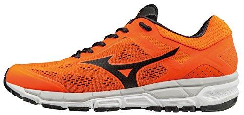 Mizuno Synchro MX 2, Zapatillas de Running para Hombre, Naranja (Clownfish/Black/Vapor Blue), 45 EU