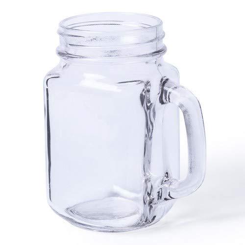 Set met 36 glazen karafjes, 500 ml, voor dranken en cocktails, ideaal voor het personaliseren. Voordelige pot voor bruiloft, evenement, communie