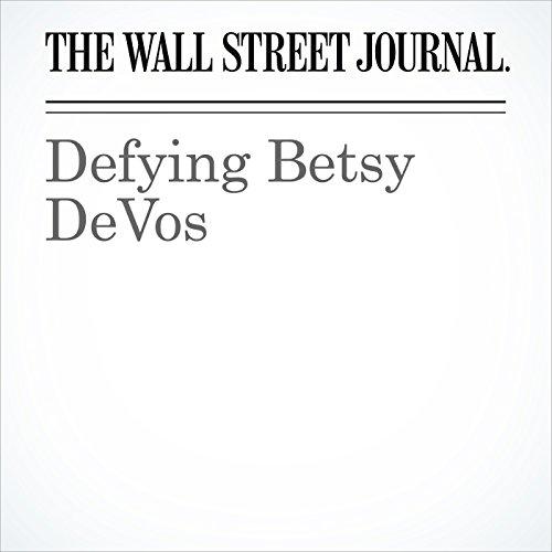 Defying Betsy DeVos copertina