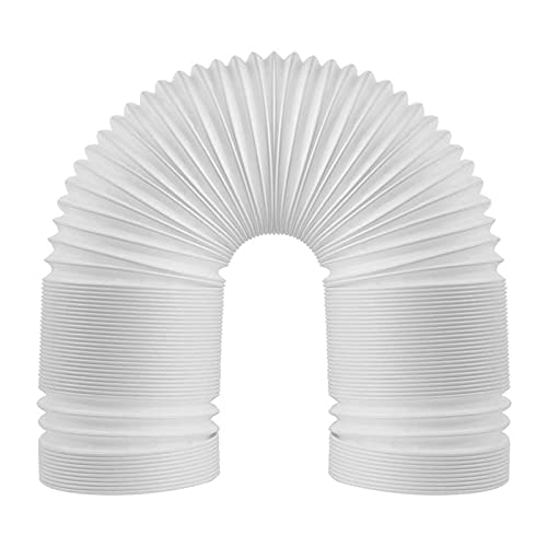 CXWHYPD Tubo di scarico del tubo di scarico del tubo del condotto dell'aria del condotto dell'aria del condizionatore universale del condizionatore universale 5 pollici Tubo di scarico condotto a 5 po
