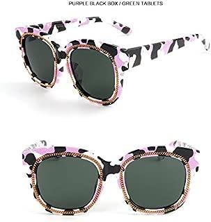 GR Child Colorful Girls Kids Baby Goggles UV400 Mirror Sunglasses Fashion Children Polaroid Sunglasses Boys (Color : Green)