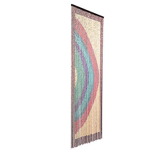 cortinas de exterior flecos verdes