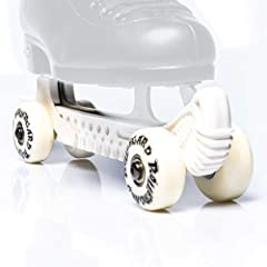 Our patented design also keeps your blades from ever touching the bottom of your Roc-N-RollerGards, so your skates stay sharper longer. Secure fit, side drainage and a serrated bottom make this the best skate guard ever. Works with most figure skates...