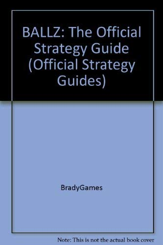 BALLZ: The Official Strategy Guide (Official Strategy Guides)