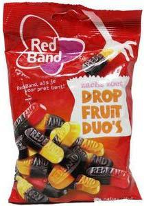 Redband- Gominola Duo (Frutas y Regaliz) 166g (12 unidades)
