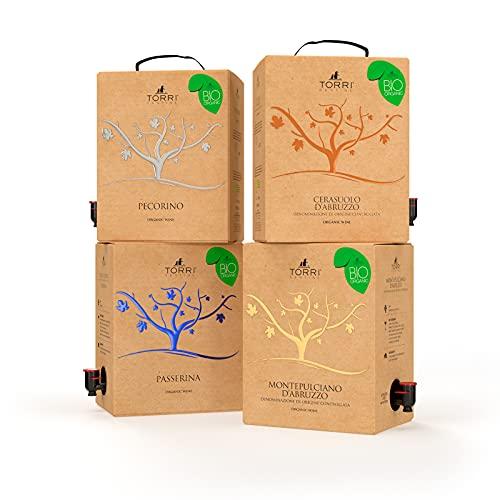 Promo selezione Bag in Box 5L Biologico Torri Cantine