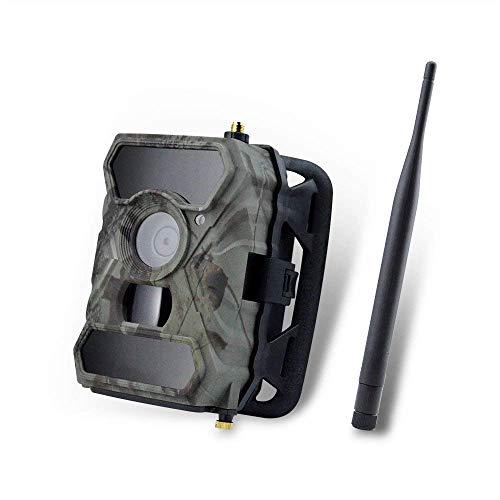 XYSQWZ Cámaras 3g 12mp 1080p con 65 Pies / 20m 940nm Led Sin Brillo Cámara De Juegos 3g gsm MMS con Control De Movimiento Y Aplicación Velocidad 0.4s (Tarjeta SD De 32g)