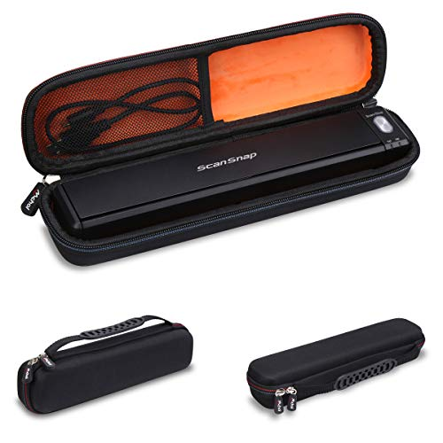 Best Review Of Mchoi Hard Portable Case Compatible with Fujitsu ScanSnap iX100 Wireless Mobile Scann...