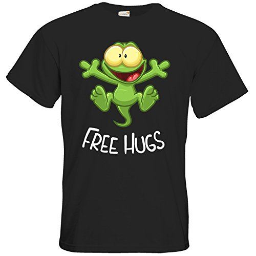 getshirts - Gronkh Official Merchandising - T-Shirt - FreeHugs - Black M