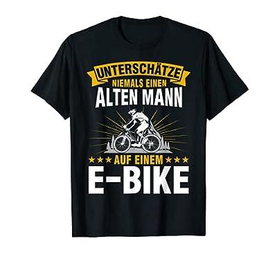 Ebike Mountainbike Männer Fahrrad Zubehör E-Biker T-Shirt