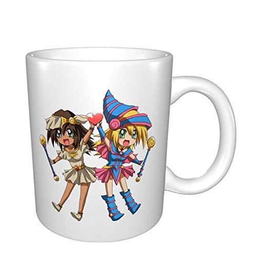 Dark Magician Girl Mana Tassen Home Office Kaffeetasse Geeignet für Tee, Kakao, Getreide