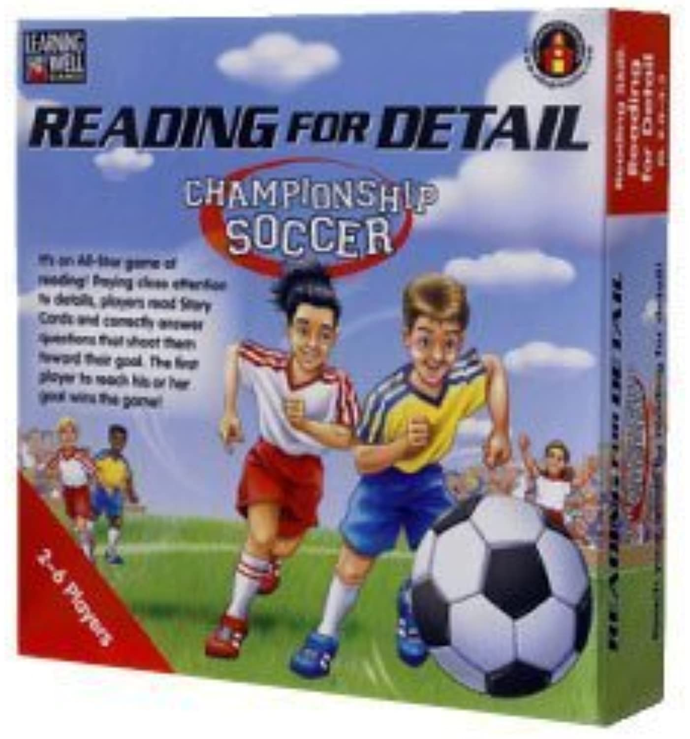 Edupress Reading For Detail Championship Soccer Red by Edupress