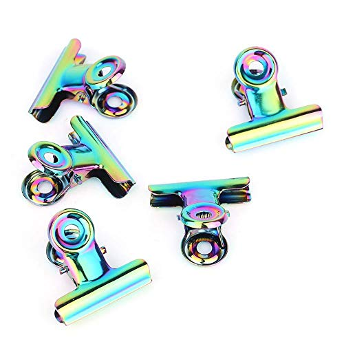 5 pcs C Courbe Clips D'extension D'ongle, Multifonctionnel Clous D'extension D'ongle en Acier Inoxydable Nail Art Accessoires pour UV Gel Outil Base Top Coat