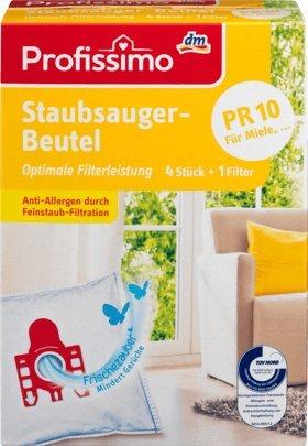 Profissimo Staubsaugerbeutel PR10, 1 x 4 St