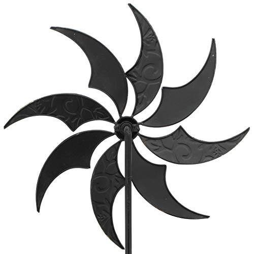 "Dekoleidenschaft WINDRAD ""Schimmer"" Metall Windspiel GARTENSTICKER GARTENSTECKER GARTENDEKO METALLDEKO - 3"