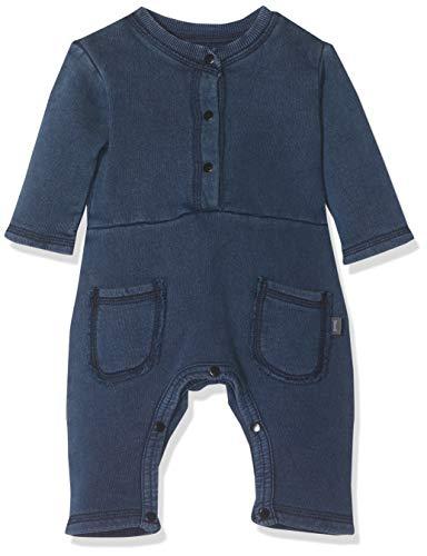 Imps & Elfs Overall Long Sleeve Combinaison, Bleu (Indigo Blue Dyed P360), 95 (Taille Fabricant: 80) Mixte bébé